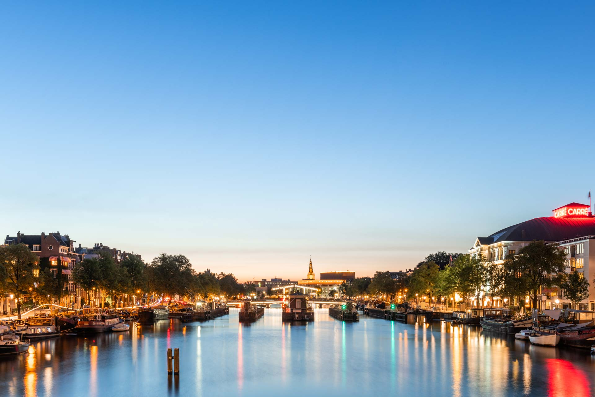 Amstel Amsterdam avondfotografie