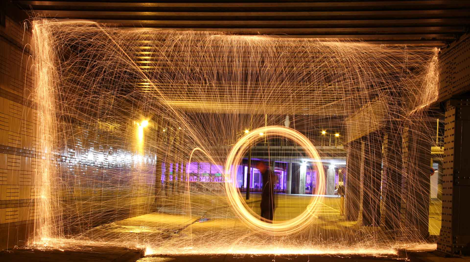 Workshop Lightpainting, workshop avondfotografie Amsterdam