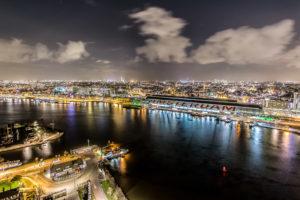 On Top of Amsterdam, avondfotografie Amsterdam, avondfoto's Amsterdam, nachtfotografie Amsterdam