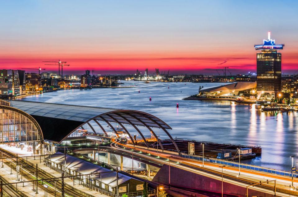 Avondfotografie in opdracht – GVB Amsterdam