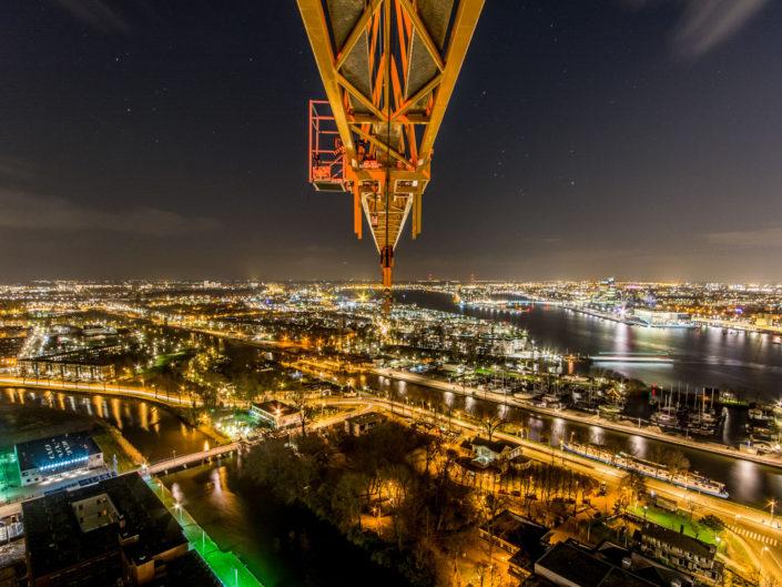 Nachtelijk Amsterdam, A'DAM toren, On top of Amsterdam