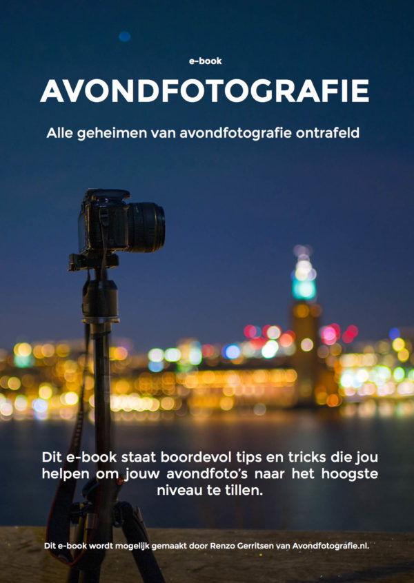 avondfotografie e-book cover