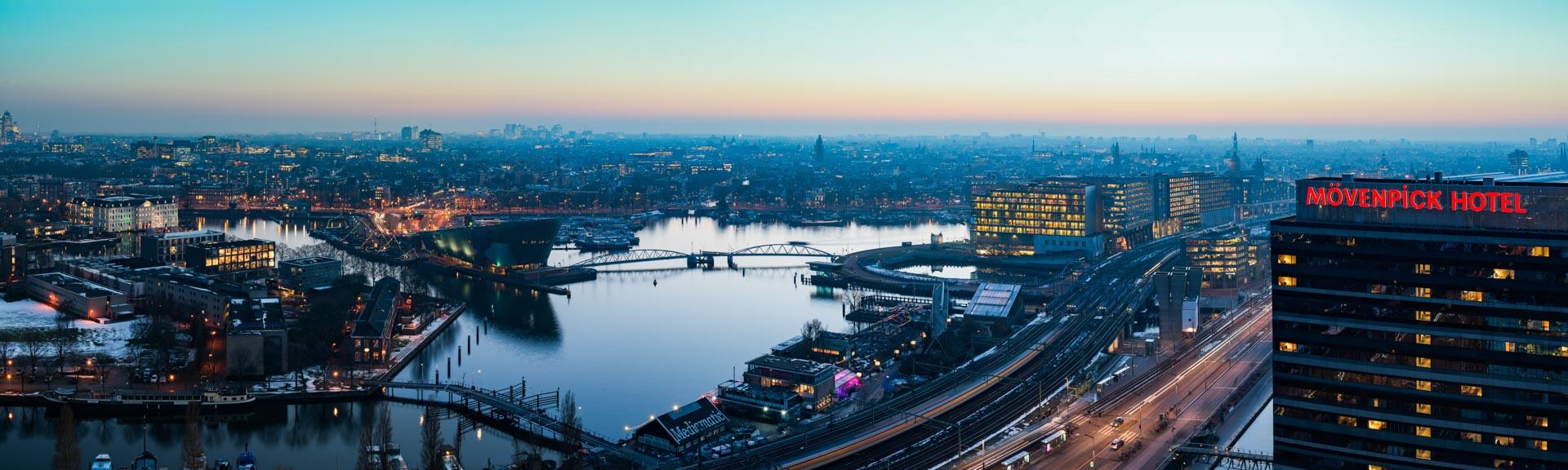 Oosterdokseiland-Amsterdam-avond-nachtfotografie