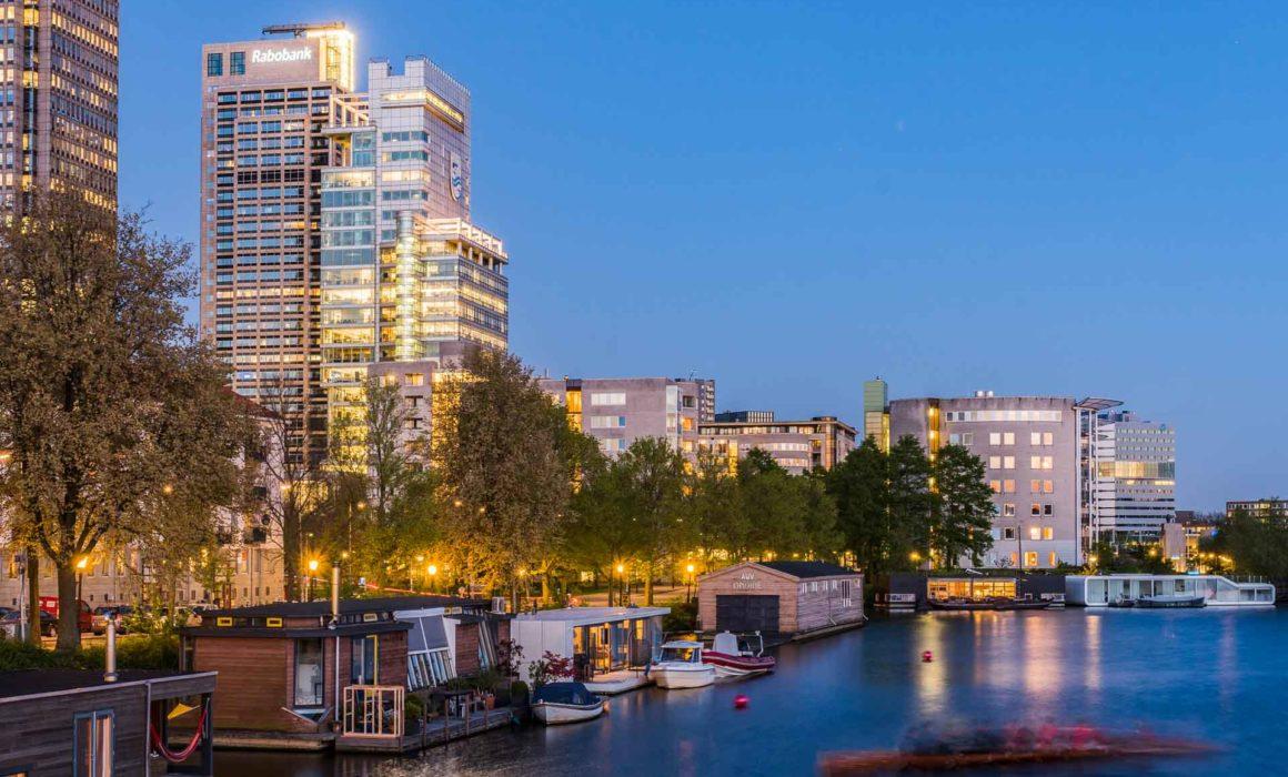 Rabobank Amsterdam - avondfotografie in opdrach