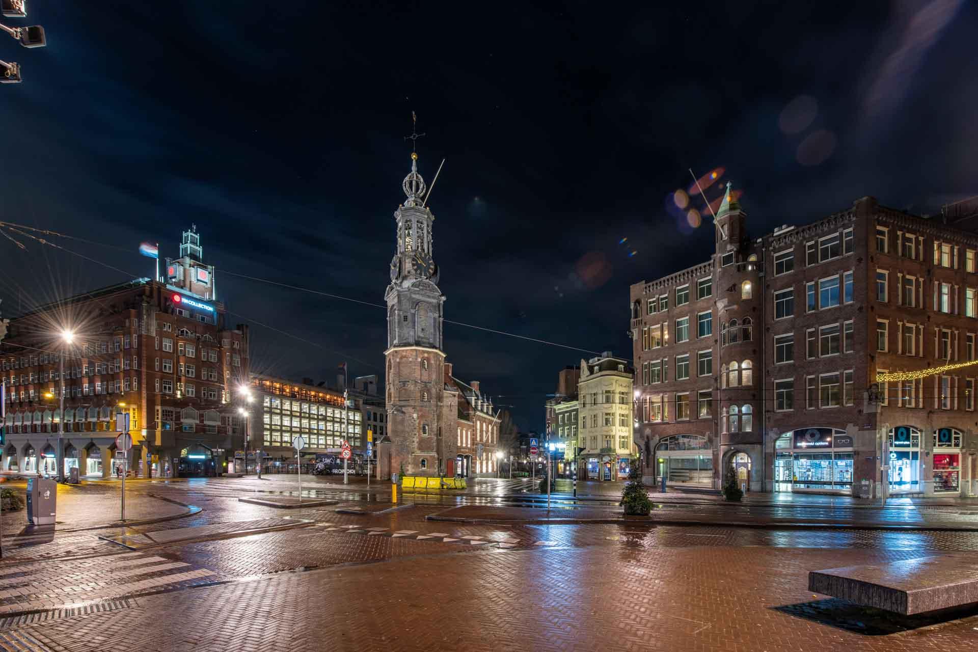 Avondklok Amsterdam